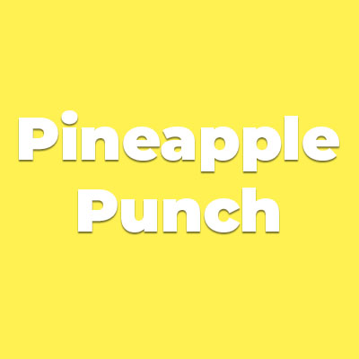 Colors PINEAPPLE PUNCH