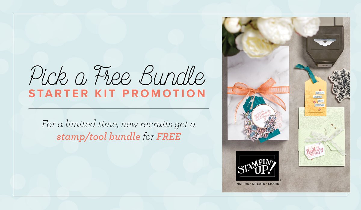 Pick a Bundle Starter Kit Promotion